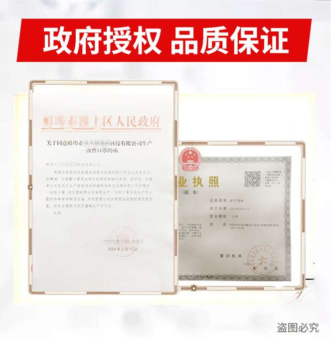 公司资质 Company Qualification